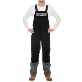 Weldas kalhoty svářečské XL  bavlna/černá
