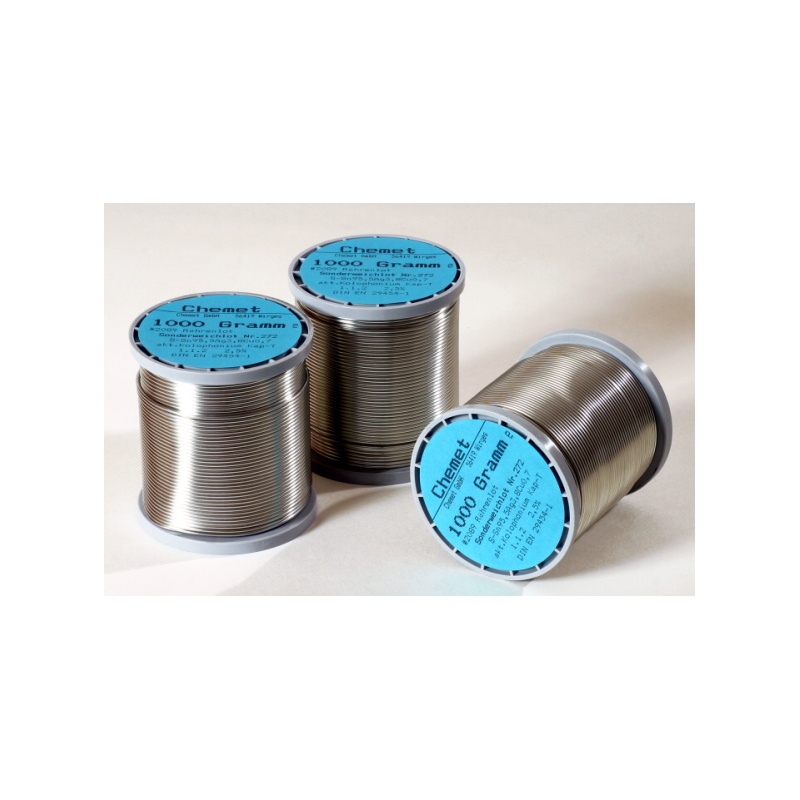 Cín trubičkový 1.0 Sn60Pb40/100g cívka