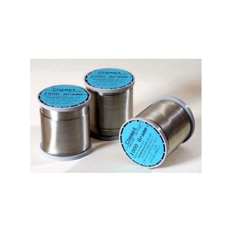 Cín trubičkový  1.0 Sn60Pb40/1kg cívka