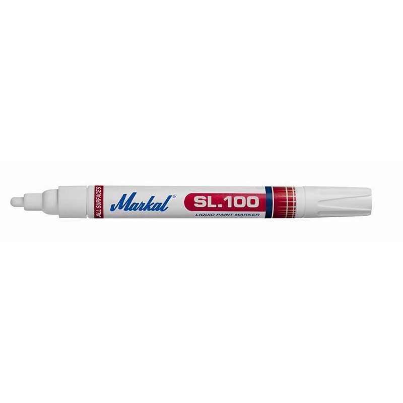 Markal popisovač SL 100 bílý