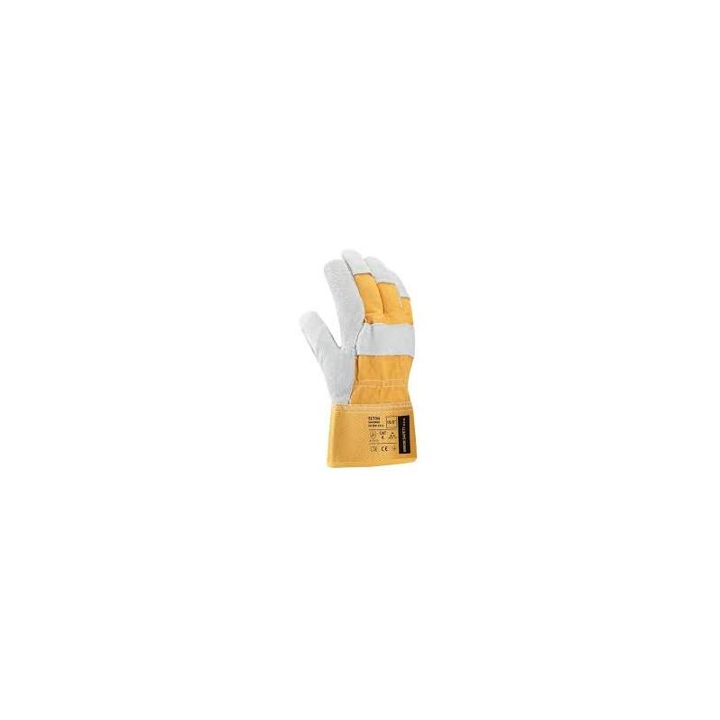 Rukavice zám. ELTON 2055E   žlutošedé